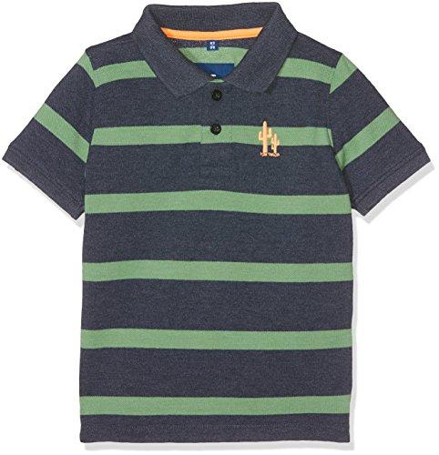 Jungen Polo Shirt Gestreift (TOM TAILOR Kids Jungen Poloshirt Stripe Polo Original Blau (Real Navy Blue1 6975), 110 (Herstellergröße: 104/110))