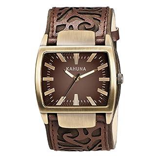 Kahuna KUC-0046G – Reloj analógico de Cuarzo para Hombre con Correa de Piel, Color marrón