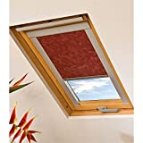 LIEDECO,Dachfensterrollo »Skylight« mit Blende,bordeaux