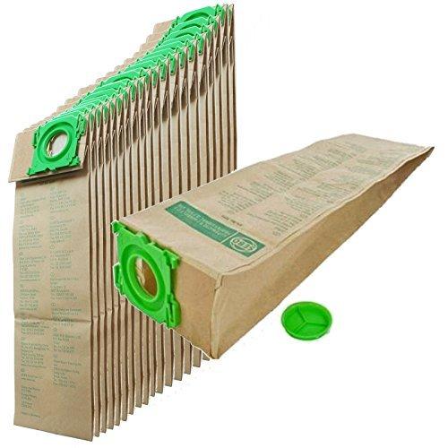 Sebo Staubsauger Beutel (Original Sebo Staubsauger Beutel x20 - Preiswerter Vorratspack mit 20 Original Staubsaugerbeuteln von einem Sebo Händler)