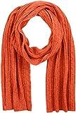 GANT Damen O2. Cable Knit Scarf Schal, Orange (Burnt Ochre), One size