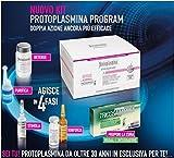 Protoplasmina Set gegen Haarausfall, Haarbad und Nahrungsergänzungsmittel mit 30Tabletten