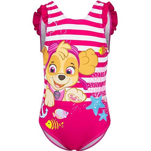 Nickelodeon Mädchen Paw Patrol Monokini, (Pink Loukoum), 5 Jahre