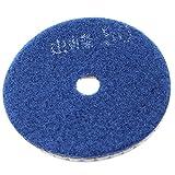 Sourcingmap a14062300ux0521Stein Marmor 50Körnung Wet Dry Diamant Kunstharz Polieren Pad–Blau/Grau