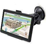 """Navegacion con Pantalla Táctil de 7"""" para Camión y Coche GPS Navegador Windows 8GB Navegación Mapa Europeo Actualización Gratuita"""