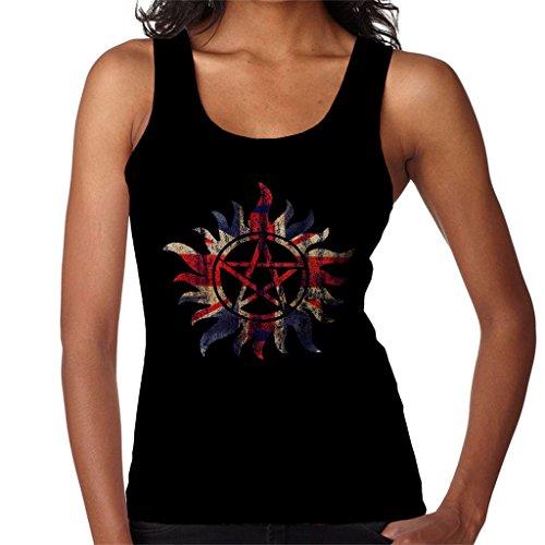 Supernatural Great British Anti Possession Women's Vest Black