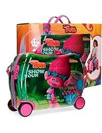 Trolls 27599C1 True Colors Equipaje infantil, 34 litros, Varios colores