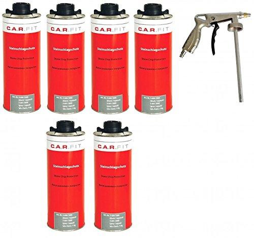 6x-carfit-unterbodenschutz-steinschlagschutz-schwarz-pistole
