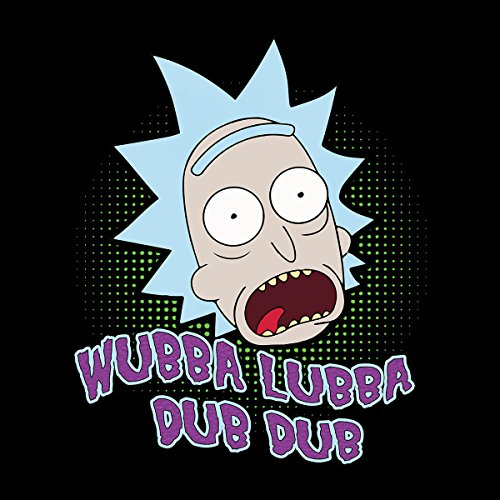 Rick And Morty Wubba Lubba Dub Dub Women's Vest Black