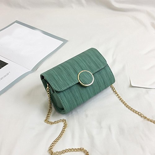 BZLine® Frauen Mädchen Handbag Ladies Elegant Shoulder Bag Beutel Tasche Grün