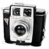 Kodak Brownie double 20 Vintage style Art déco années 50 's 620 Film Camera