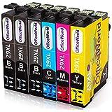 OfficeWorld Sostituzione per Epson 29 29XL Cartucce d'inchiostro Compatibile con Epson XP-342 XP-245 XP-442 XP-345 XP-247 XP-445 XP-235 XP-432 XP-332 XP-335 XP-255 (3 Nero,1 Ciano,1 Magenta,1 Giallo)
