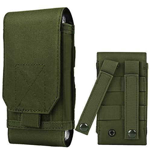 Shidan Tactical Molle Pouch, 1000D Nylon Camo Compact Handytasche Gürteltasche Smartphone -