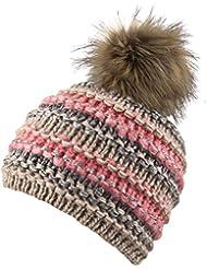 Chillouts Damen Mütze Rachel Hat Pudelmütze Strickmütze
