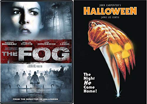 Director's Collection - John Carpenter Double Feature The Fog & Halloween (1978) 2-DVD Classic Horror Bundle (John Carpenter 1978 Halloween)