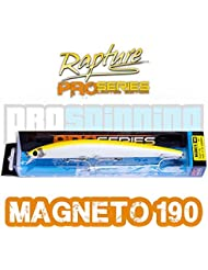 RAPTURE - MAGNETO 190 - Señuelo pesca - Spinning - COLOR SFY- Shiner Fluo Yellow