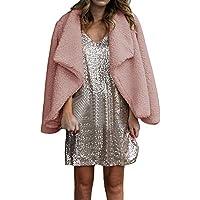 Winter Womens Plush Coat Cardigan Ladies Casual Blazer Jacke preisvergleich bei billige-tabletten.eu