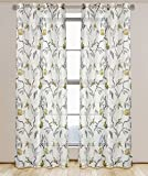 LJ Home Fashions Andi Floral Semi Sheer Readymade - Best Reviews Guide