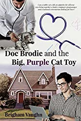 Doc Brodie and the Big, Purple Cat Toy