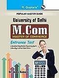 M.Com Entrance Test Guide (Popular Master Guide)