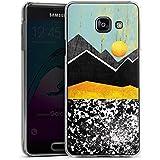 Samsung Galaxy A3 (2016) Housse Étui Protection Coque Montagnes Ciel Soleil