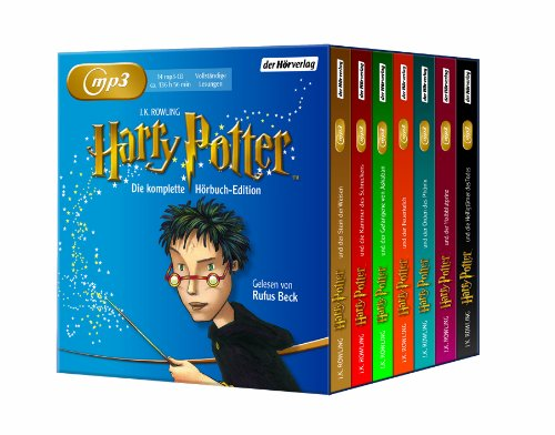Harry Potter(Mp3 Ausgabe)-die Komplette Hrbuch ed [Import allemand]