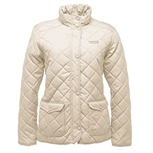 Regatta Missy Women's Quilted Jacket (10, Polar Bear)