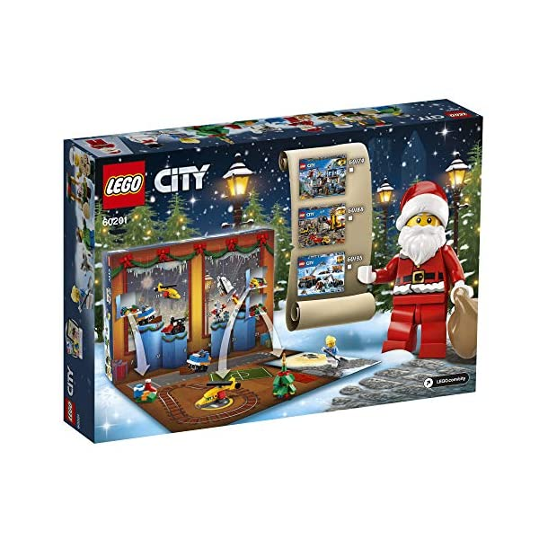 LEGO- City Calendario dell'Avvento OUS, Colore Various, 60201 3 spesavip