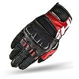 SHIMA X-BREEZE RED, Jungen Herren Touring Cross Classic Sommer Touchscreen Sport Motorradhandschuhe, Rot, Größe XL