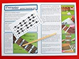 FRETNOTE Stickers for Soprano Ukulele - 13 Labels with Online Learning Aids