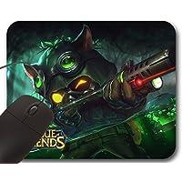 Mousepad Teemo Omega Squad Skin LOL - Tappetino per Mouse League of Legends