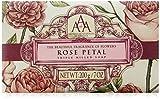 Aromas Artesanales Antigua jabón con pétalos de rosa, usado segunda mano  Se entrega en toda España