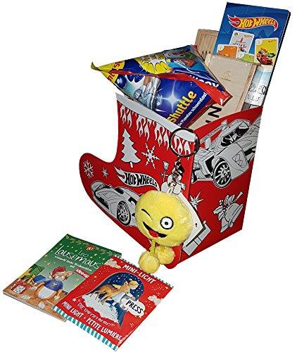 KSS Nikolausstiefel befüllt 10-12 Teile Spielwaren für Jungs auch zum befüllen von Adventskalendern