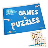 Pipity Games and Puzzles Activity Book - with 'How to Play' YouTube videos