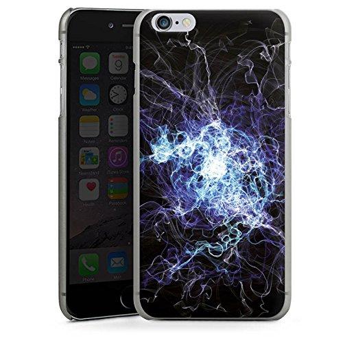 Apple iPhone X Silikon Hülle Case Schutzhülle Elektrizität Blitz Strom Hard Case anthrazit-klar