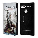 Head Case Designs Ufficiale Assassin's Creed Connor Ascia III Arte Chiave Cover a Portafoglio in Pelle per Essential PH-1