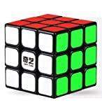 Best Cubes - IndiaBuy 3x3x3 QIYI Black Background Rubik's Magic Smooth Review