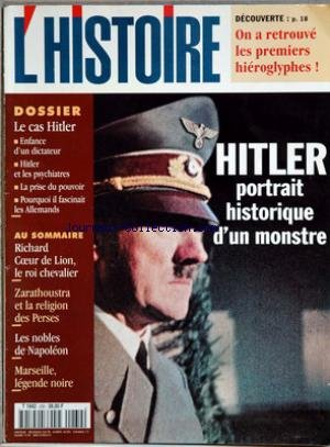 HISTOIRE (L') [No 230] du 01/03/1999