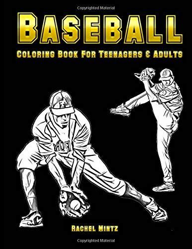 Baseball - Coloring Book for Teenagers & Adults por Rachel Mintz