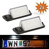 Do!LED 3628 LED Kennzeichenbeleuchtung TÜV-FREI Nummernschild Beleuchtung Kennzeichenleuchten Xenon Weiss mit E4 Prüfzeichen