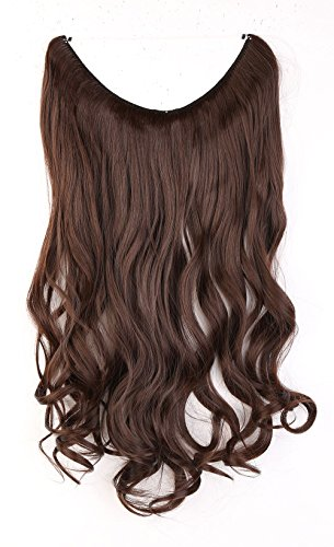 S-noilite-20-One-Piece-Half-Full-Head-Secret-Miracle-Wire-in-Hair-Extensions-Ombre-Wavy-Curly-Hairpieces-Medium-brown
