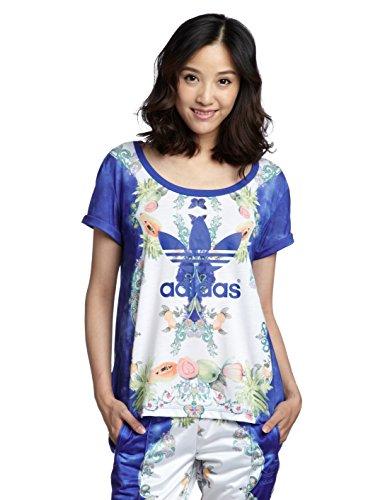 Adidas Indigo W T-Shirt Weiß