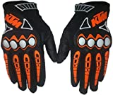 #10: FAS KTM Men Fashionable Bike Riding Full Gloves For Your Sporty Look