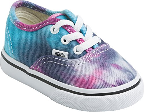Vans Authentic VJXI4LL Unisex - Kinder Lauflernschuhe (tie dye) pink/