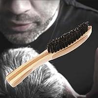 shager – Cepillo para la barba (pelo de jabalí – 100% naturelle- ideal de  cuidado fácil regalo para cepillado. e062869ac10d