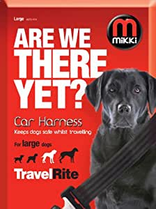 Mikki Travel & Household Car Harness Keeps Dogs Safe Whilst Travelling  Large