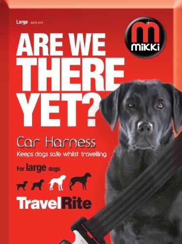Pet-kiste Reise Groß (Mikki für zu Hause und unterwegs, Autogurt für sicheres Reisen mit Ihrem Hund, groß)