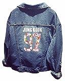 SERAPHY Unisex BTS Jacke KPOP Jeansjacke Jin Suga J-Hope Rap-Monster Jimin V Jung Kook 97