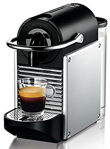 DeLonghi Nespresso EN 125.S Kapselmaschine (1260 Watt, 0,7 Liter, Pixie