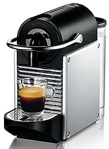 DeLonghi Nespresso EN 125.S Kapselmaschine (1260 Watt, 0,7 Liter, Pixie Electric) silber